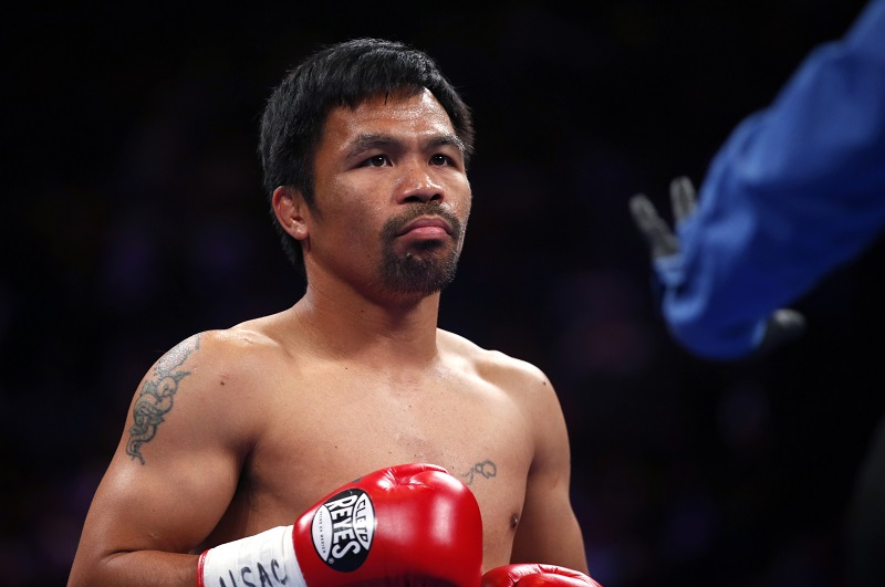 Manny Pacquiao podría pelear contra Conor McGregor este año