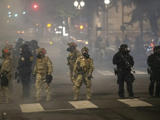 """La CIDH preocupada por """"uso excesivo de la fuerza"""" en protestas en EE.UU."""