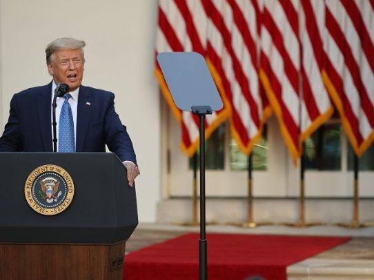Trump anuncia el despliegue de miles de soldados armados en Washington