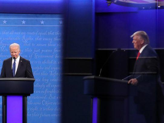 Trump y Biden: un debate presidencial más calmado y dos visiones muy distintas