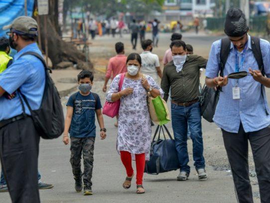 Aparición de una misteriosa enfermedad en una ciudad del sur de India