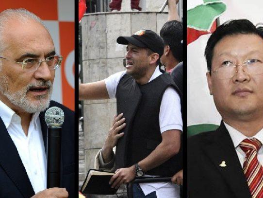 Se perfilan tres precandidatos presidenciales en Bolivia para elecciones sin Morales