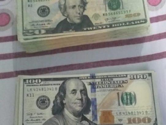 Colón: Decomisan más de 13 mil dólares presuntamente falsificados