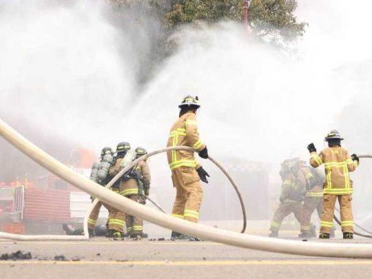 Los Bomberos atendieron 428 incendios estructurales hasta septiembre