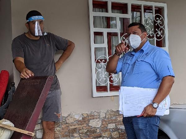 CSS en Veraguas da seguimiento a pacientes positivos a Covid-19