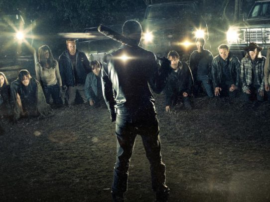 Abraham y Glenn, asesinados por Negan en The Walking Dead
