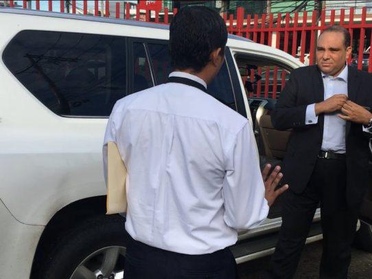 Fiscal Tania Sterling ordena conducción de Fernando Correa