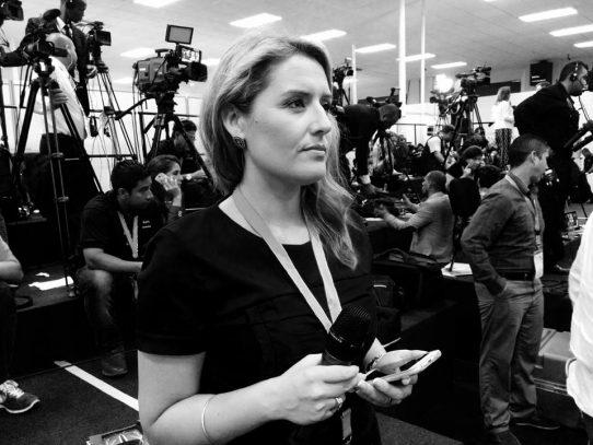 """Jenny Pérez: """"Son preguntas que haría cualquier periodista en Europa"""""""