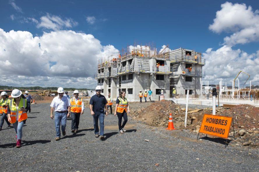 440 personas trabajan en Ciudad Esperanza, proyecto tiene avance de 20%