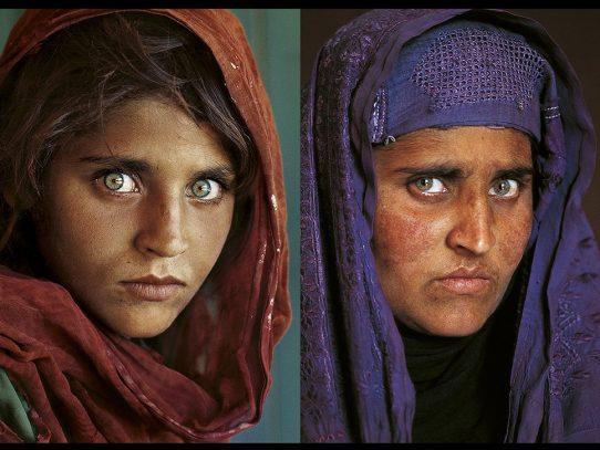 "Detenida la ""niña afgana"" de icónica foto por falsedad de documento"
