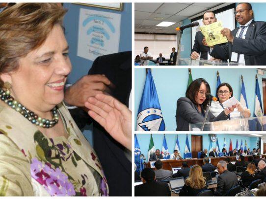 Eligen a la diputada panameña Priscilla Weeden de Miró como presidenta del Parlacen