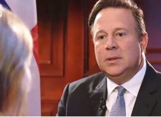 """Las preguntas sobre """"Panama Papers"""" que incomodaron al presidente Juan Carlos Varela"""