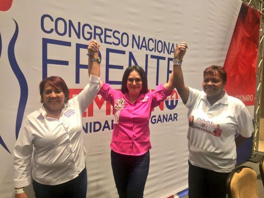 Zulay Rodríguez consigue presidencia del Frente Femenino del PRD
