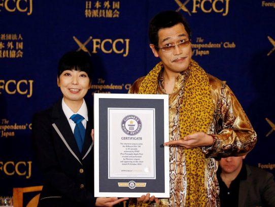 Artista japonés gana récord Guinness con canción viral de 45 segundos