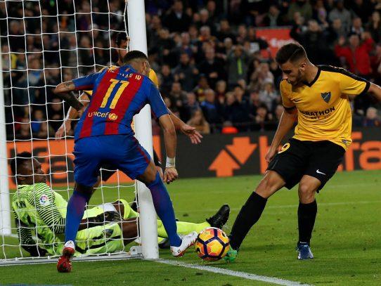 Sin Messi, Barcelona empata en casa contra el Málaga en la liga española