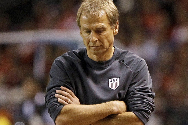 Federación de fútbol de EEUU despide a Klinsmann tras derrotas en eliminatoria