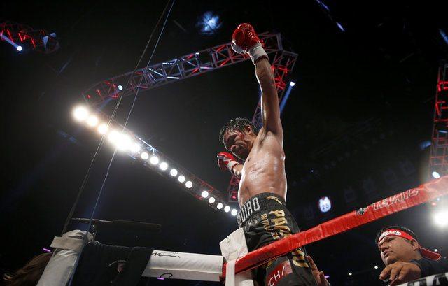 EL filipino Manny Pacquiao supera a Jessie Vargas y le arrebata el título welter