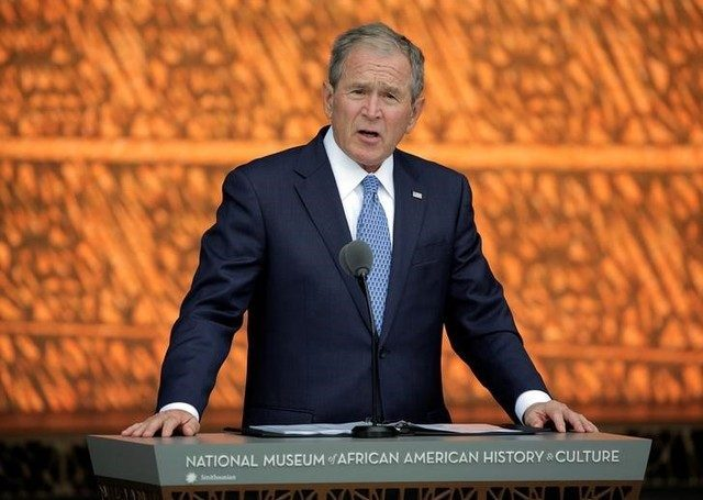 George W. Bush no votó por ningún candidato a la presidencia de EEUU