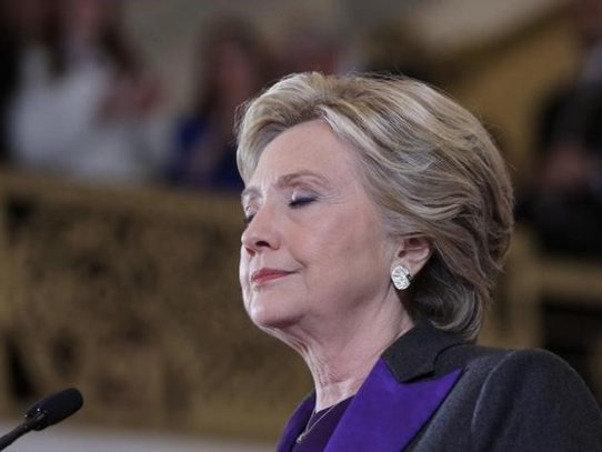 Hillary Clinton no será nunca más candidata a nada