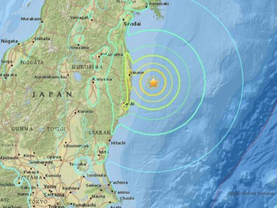 Fuerte sismo sacude Japón; piden evacuar zona de Fukushima
