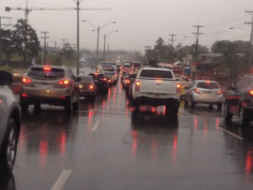 Sinaproc emite aviso de prevención por lluvias con actividad eléctrica y vientos