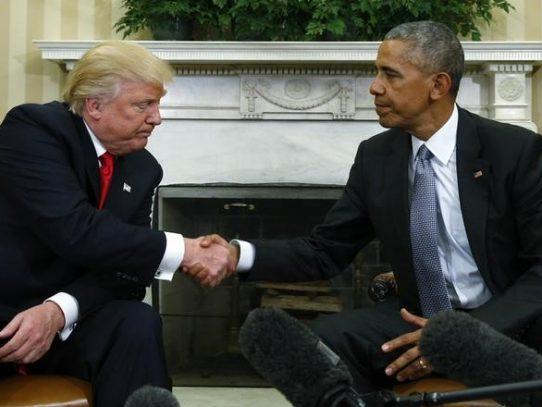 Obama y Trump abren camino a la transición en primer encuentro en la Casa Blanca