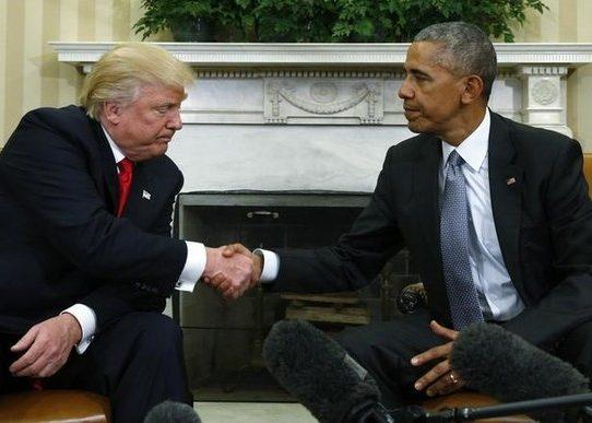 """Trump: """"Consideraré mantener parte de la ley de salud de Obama"""""""