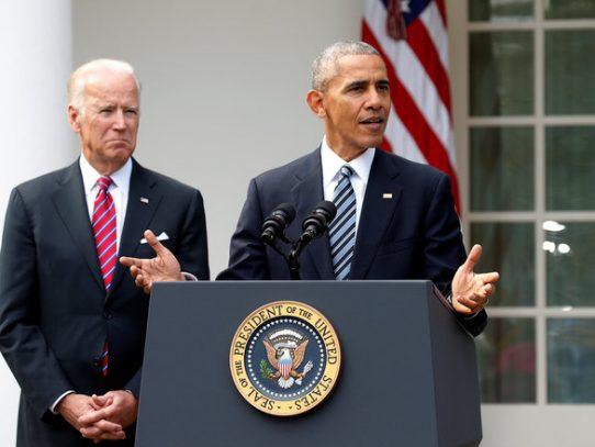 Obama felicita a Trump tras éxito electoral, se reunirán en Casa Blanca