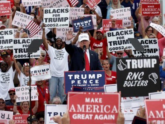 Clinton y Trump se disputan Ohio y Florida por alcanzar la Casa Blanca