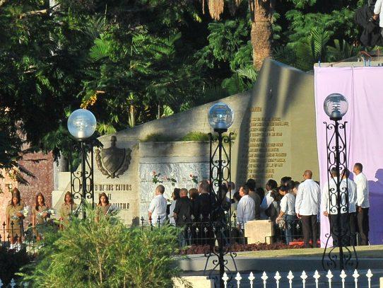 Fidel Castro: enterrado en Santiago de Cuba