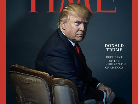 "Donald Trump: ""el hombre del año"", según Time"