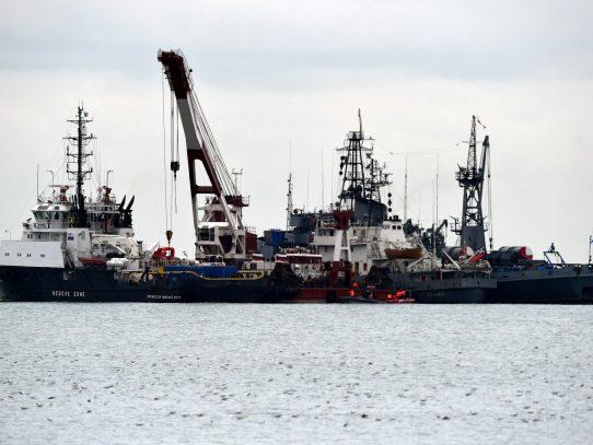 Encuentran segunda caja negra de avión ruso accidentado en el mar Negro