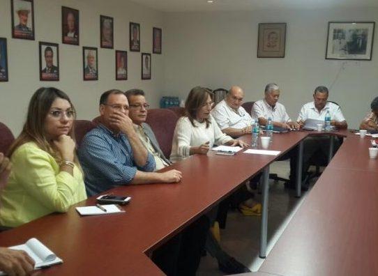 Comisiones del PRD entregan informes a Pedro Miguel González