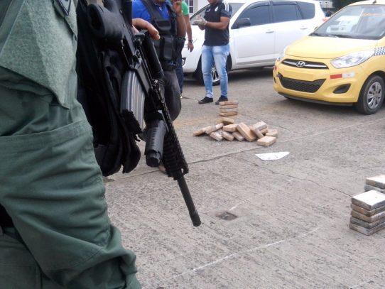 Más de 1,700 personas fueron capturadas por narcotráfico y crimen organizado en Panamá, durante 2016