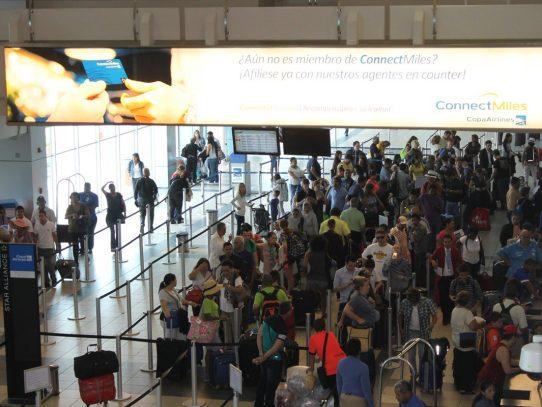 Crece en 2.86% tráfico de pasajeros en aeropuerto de Tocumen