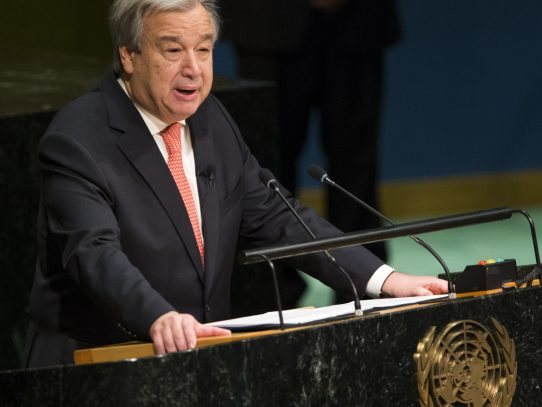 "Secretario general de la ONU teme una ""guerra civil total"" en Libia"