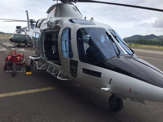 Senan suma a su flota el primer helicóptero ambulancia del país