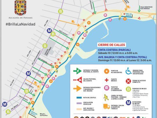Desfile de Navidad: en marcha plan de logística y seguridad