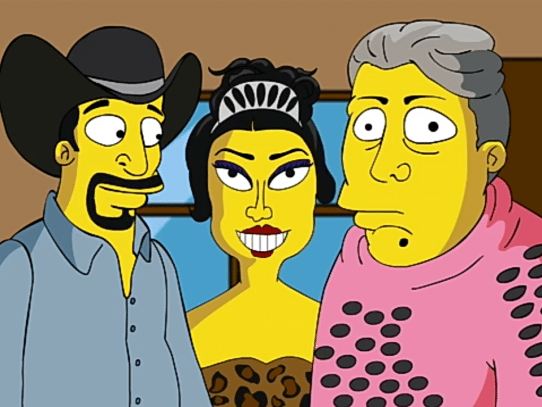 Los XV de Rubí, al estilo 'Los Simpson'