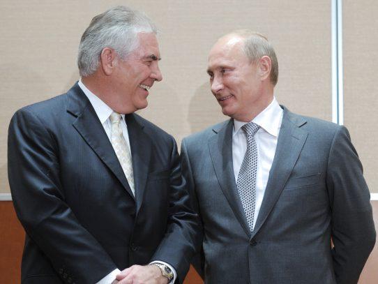Trump nombra secretario de Estado al jefe del ExxonMobil, Rex Tillerson
