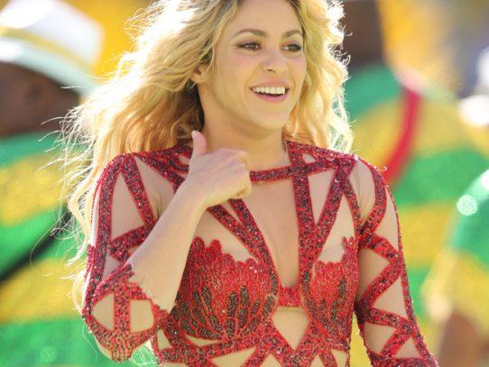 Shakira celebra en Brasil su nominación al Grammy