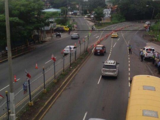 Martínez interpone demanda ante la Corte por inversión de carriles