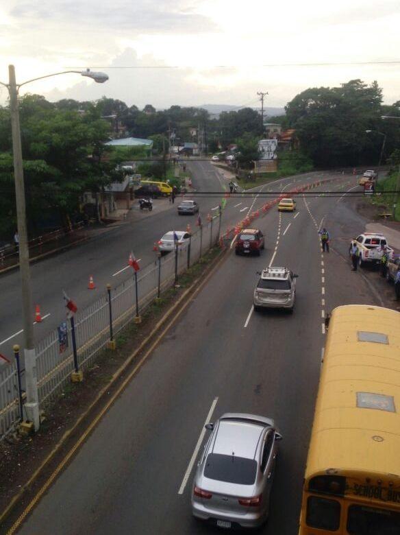 Inversión de carriles inicia a las 2:00 p.m. del viernes desde el Puente de Las Américas
