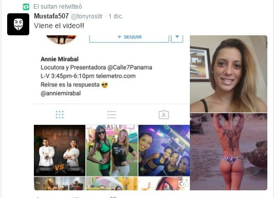 """Annie Mirabal rompe el silencio: no afirma ni niega el vídeo """"hot"""""""