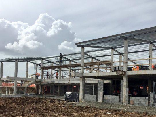 Sede regional de Universidad de Panamá en Ciudad Esperanza avanza un 40%