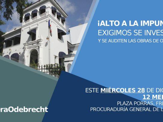 Sociedad civil se pronunciará este miércoles sobre caso Odebrecht