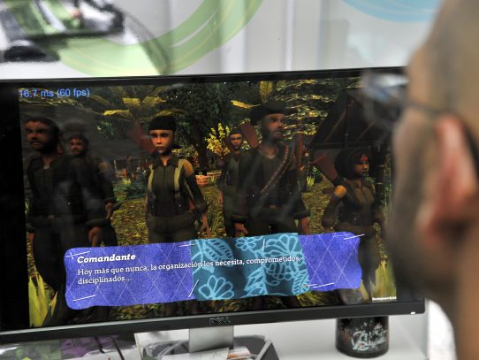 """""""Reconstrucción"""", el videojuego de la guerra en Colombia"""