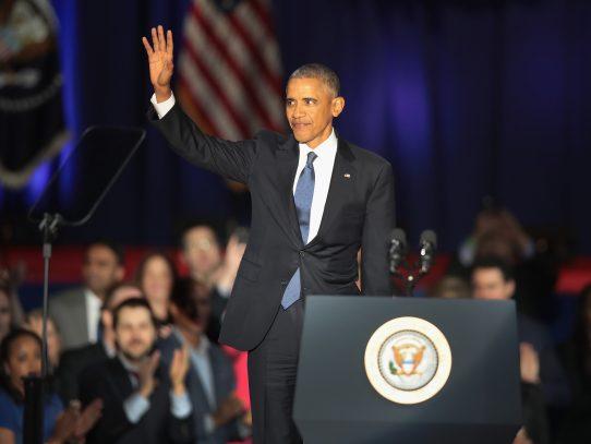 Obama defiende su gestión en su último discurso