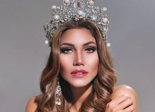 Keity Drennan, a horas de partir al Miss Universo