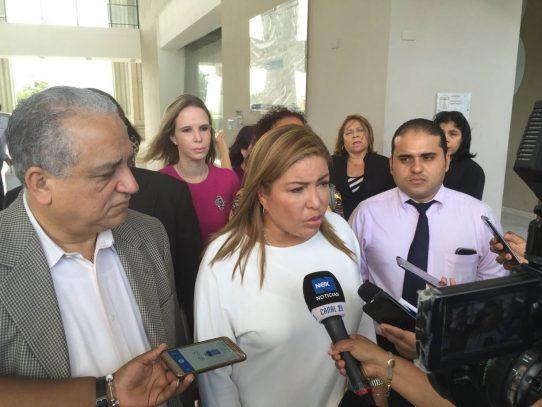 Alma Cortés confirma que el Ministerio Público cauteló sus cuentas